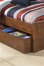 Trundle Under Bed Storage Unit Used for Storage