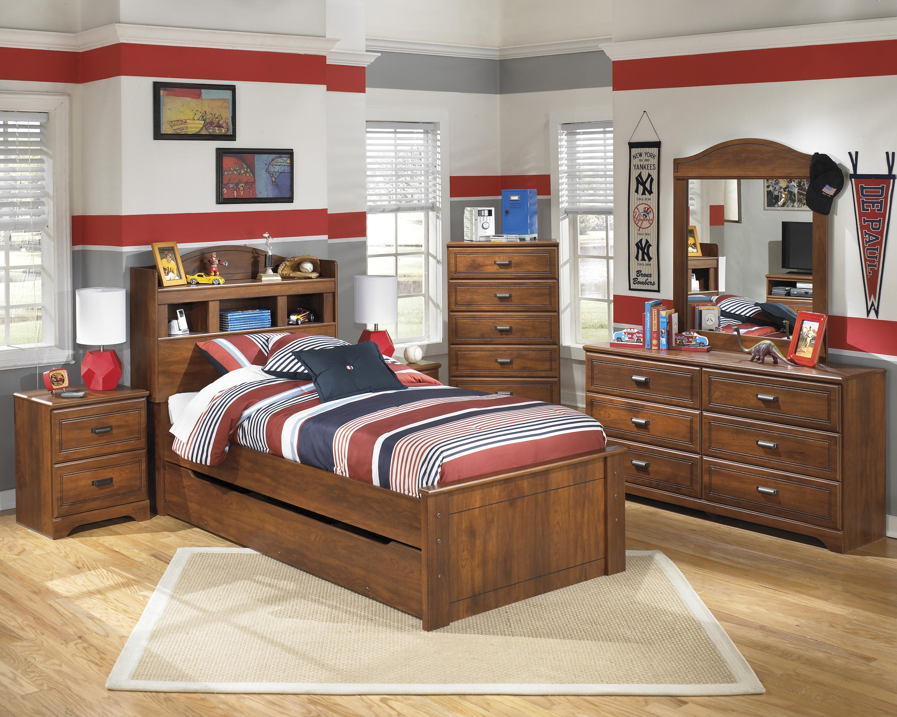 Signature Design by Ashley Barchan Twin Bedroom Group - Item Number: B228 T Bedroom Group 6