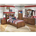 Signature Design by Ashley Barchan Twin Bedroom Group - Item Number: B228 T Bedroom Group 5