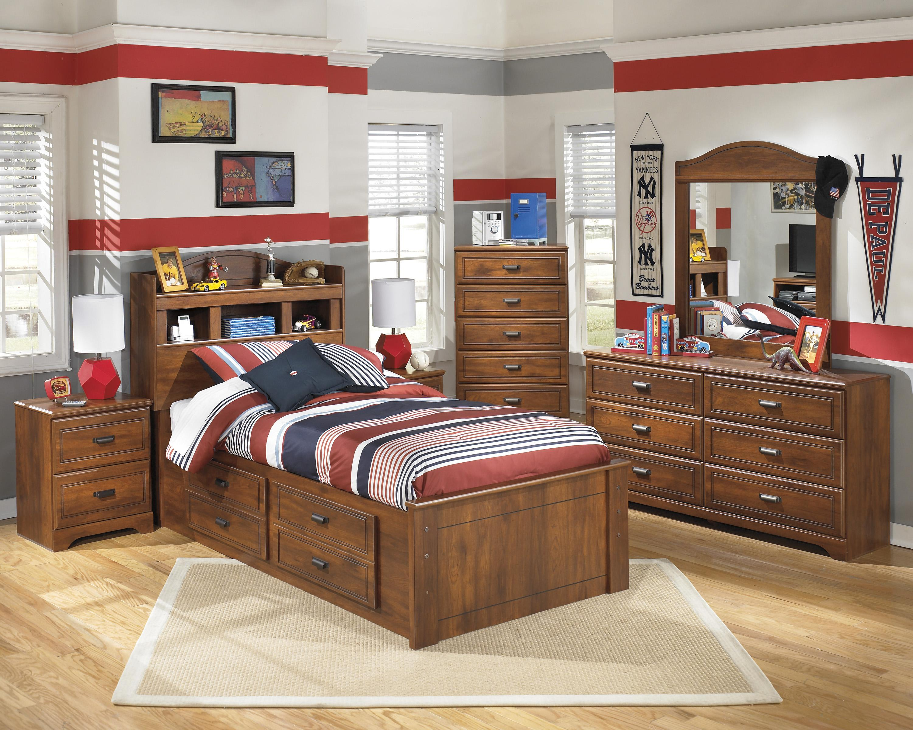 Barchan Twin Bedroom Group by Signature Design by Ashley at Zak's Warehouse Clearance Center