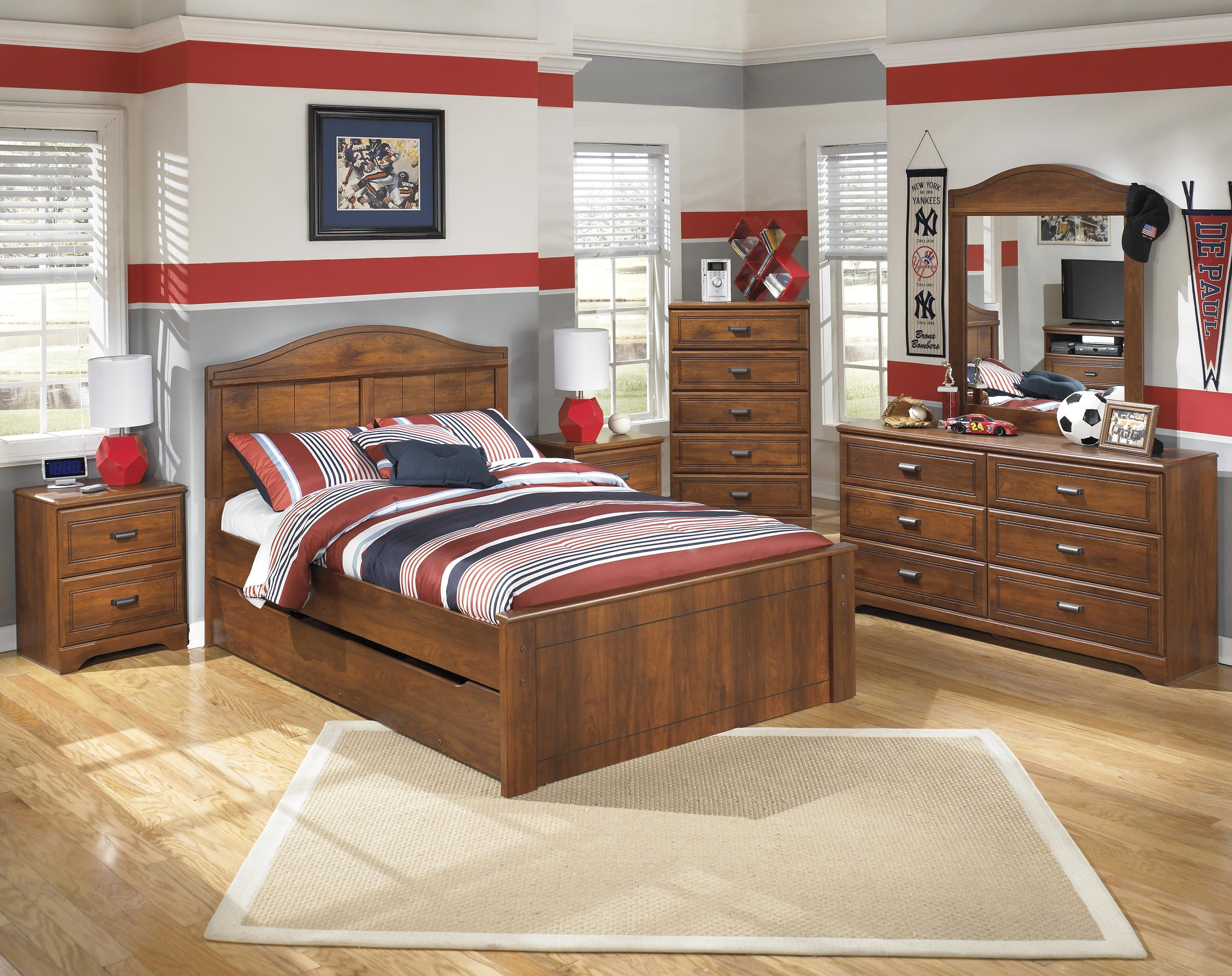 Signature Design by Ashley Barchan Full Bedroom Group - Item Number: B228 F Bedroom Group 2
