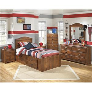 Signature Design by Ashley Barchan Dresser with 6 Drawers