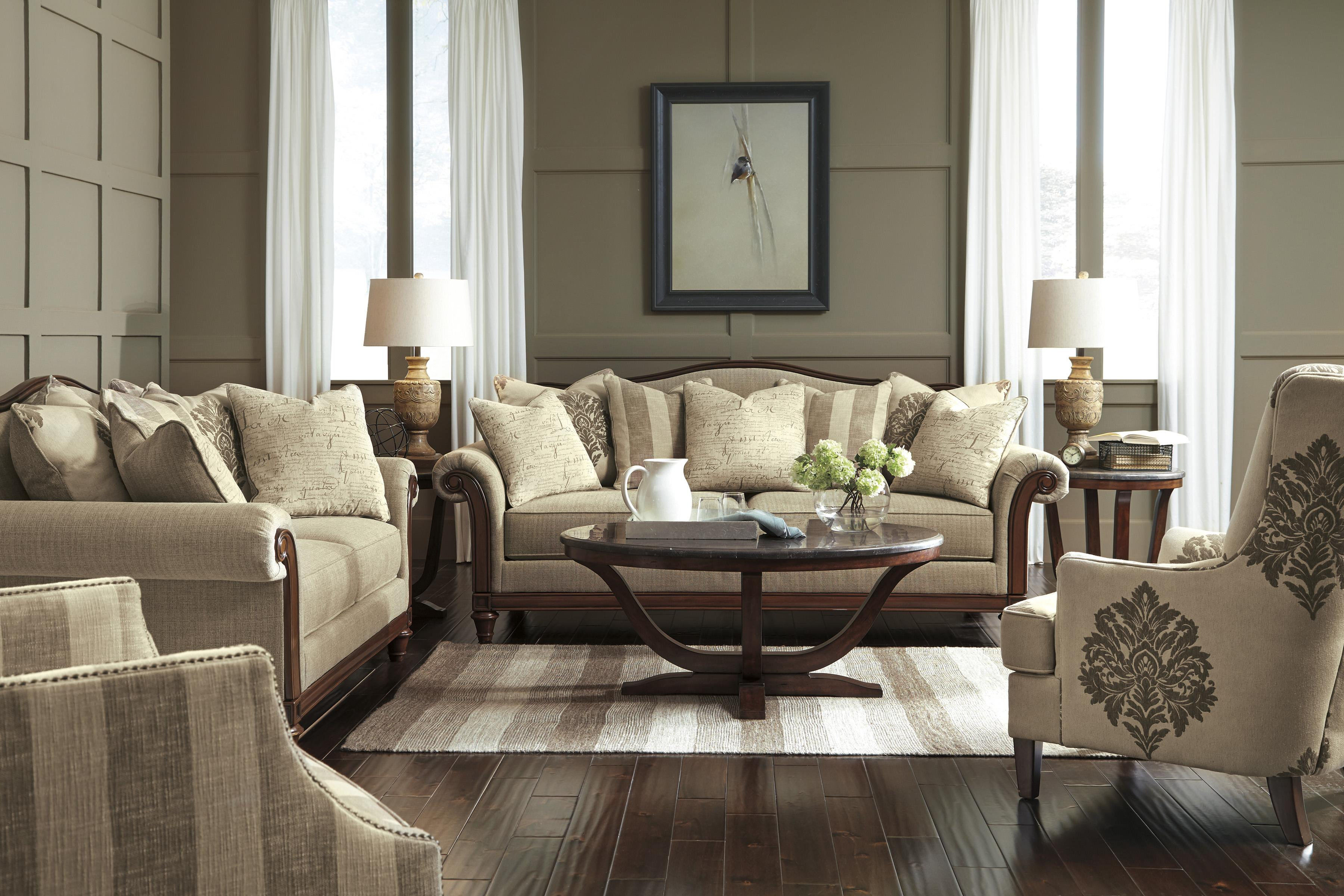 Signature Design by Ashley Berwyn View Transitional Sofa with ...