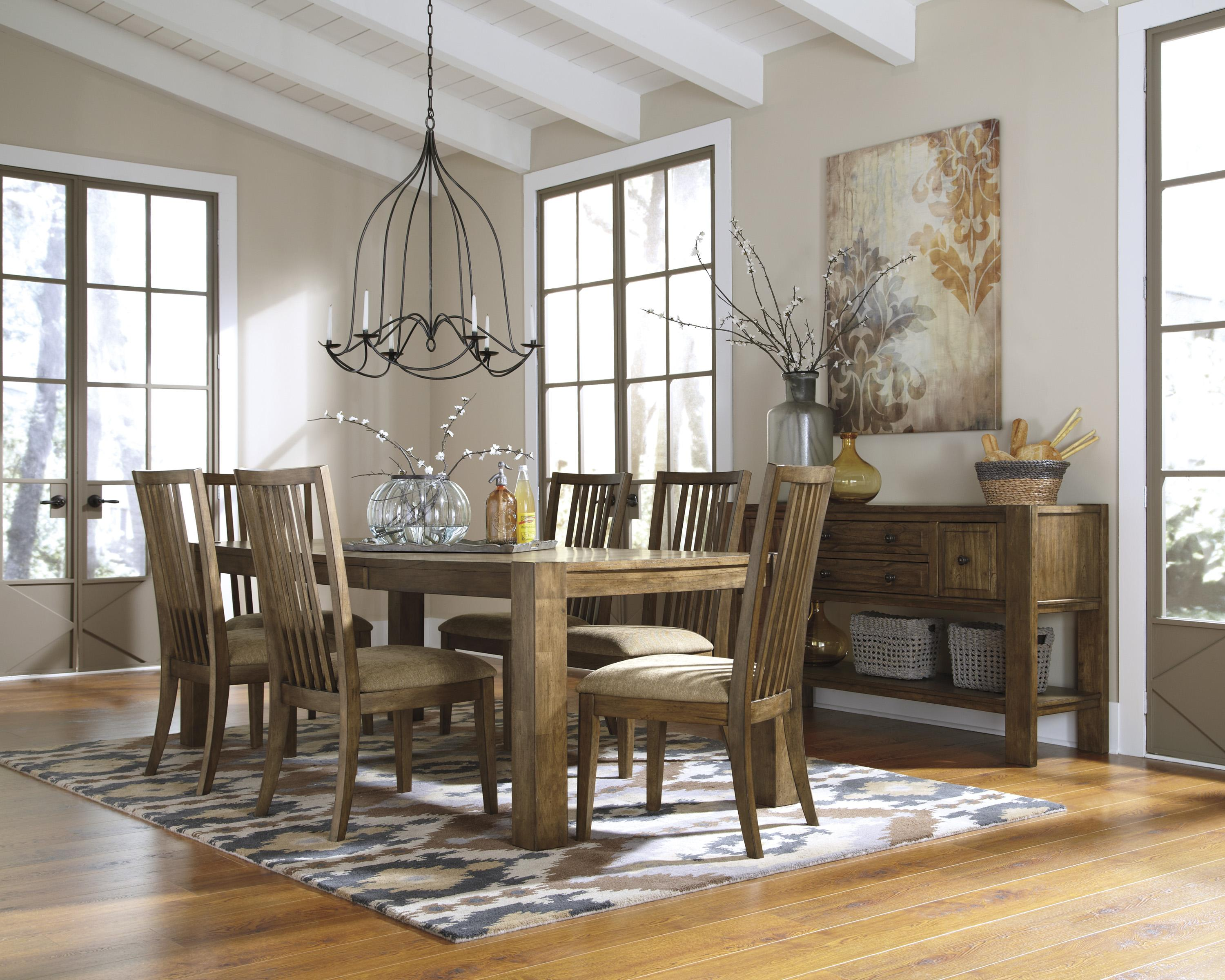 Signature Design By Ashley Birnalla Casual Dining Room Group