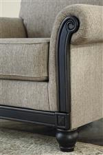 Showood Trim in Distressed Dark Finish