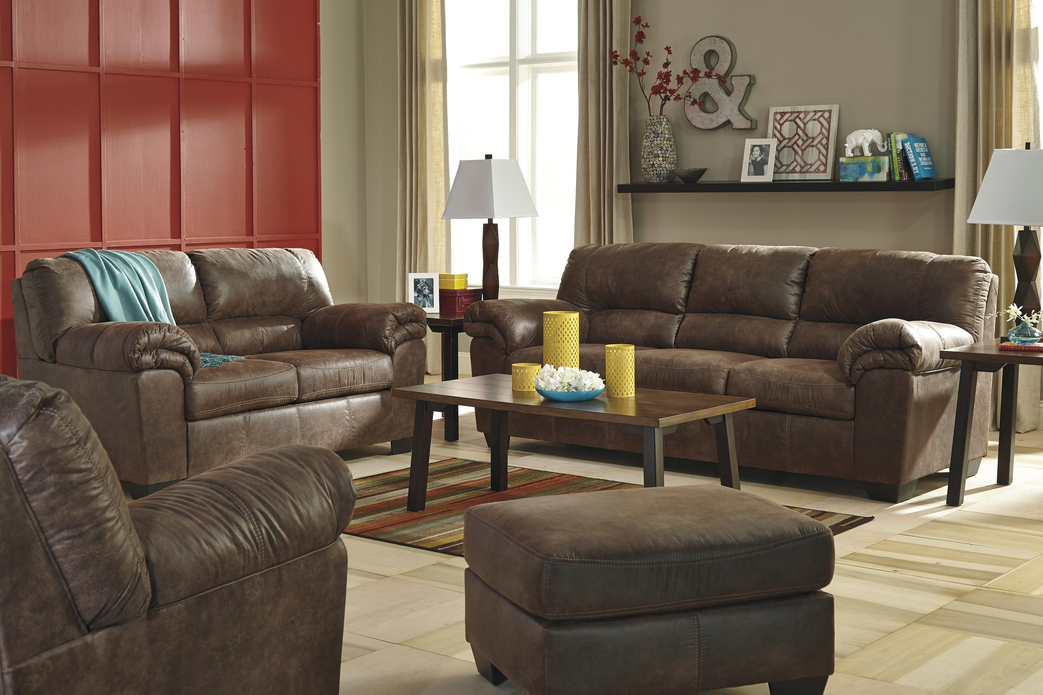 Signature Design by Ashley Bladen 2 Piece Faux Leather Sectional
