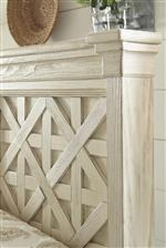 Lattice Panel Headboard