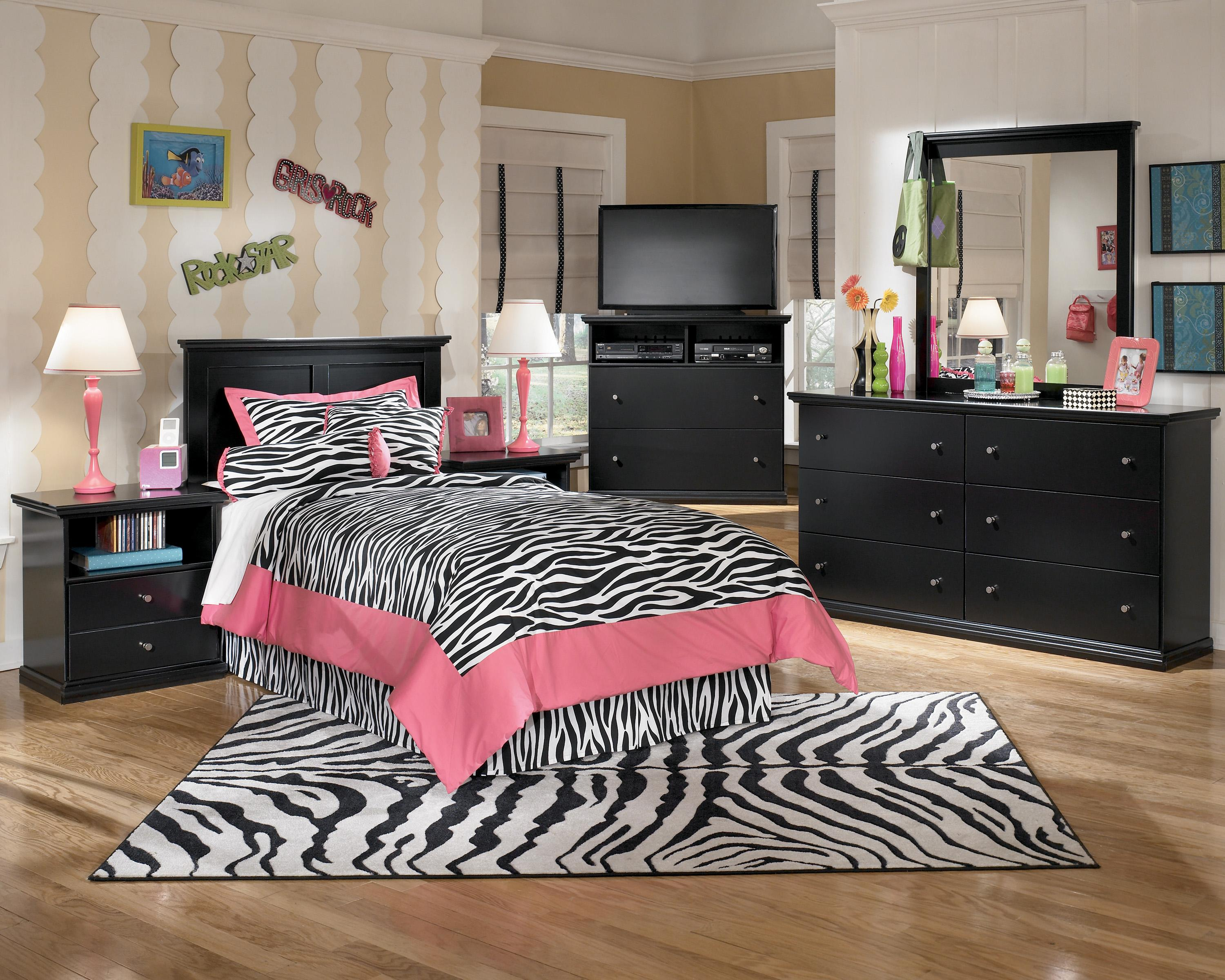 Signature Design by Ashley Maribel Twin Bedroom Group - Item Number: B138 T Bedroom Group 3
