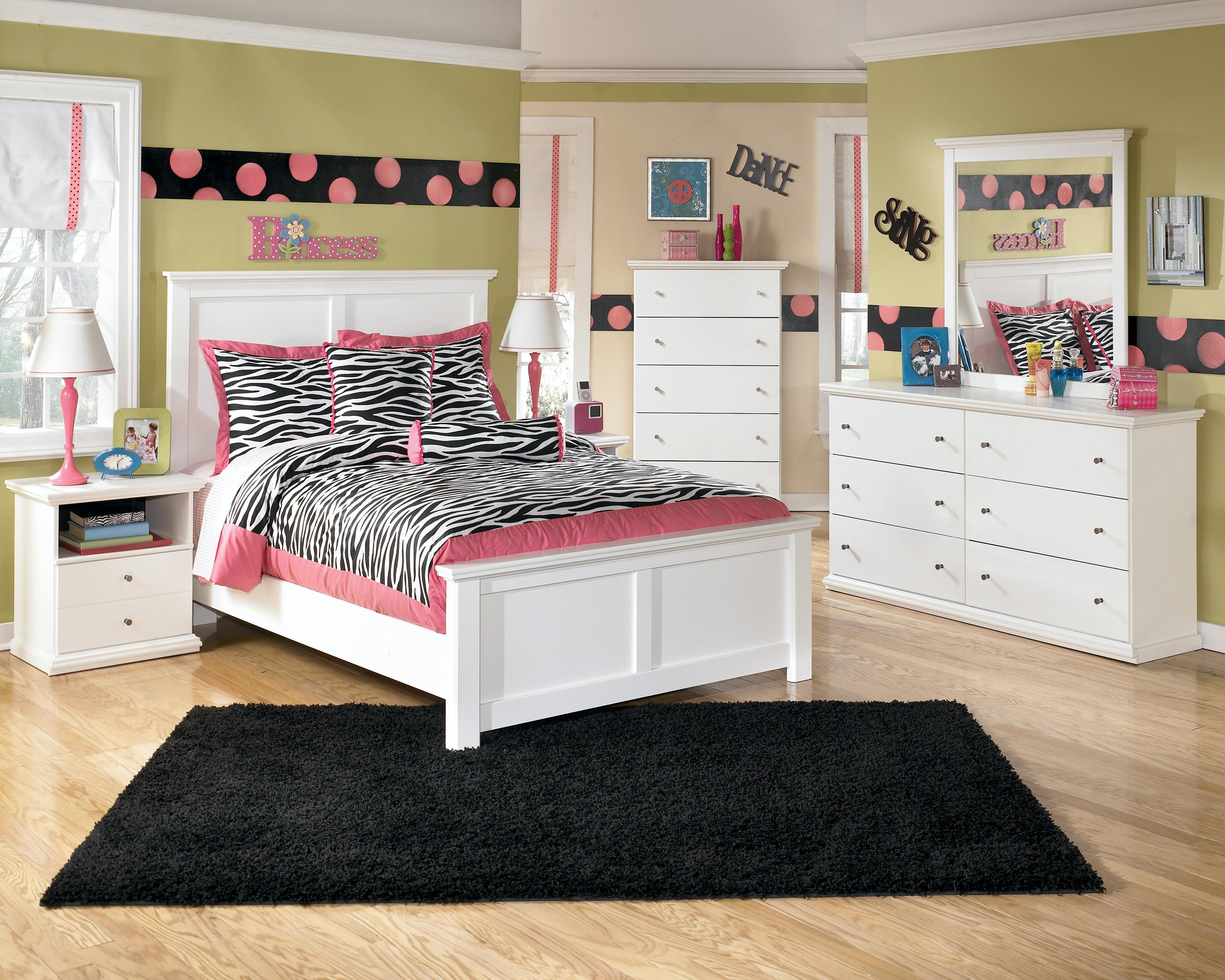 Signature Design by Ashley Bostwick Shoals Full Bedroom Group ...