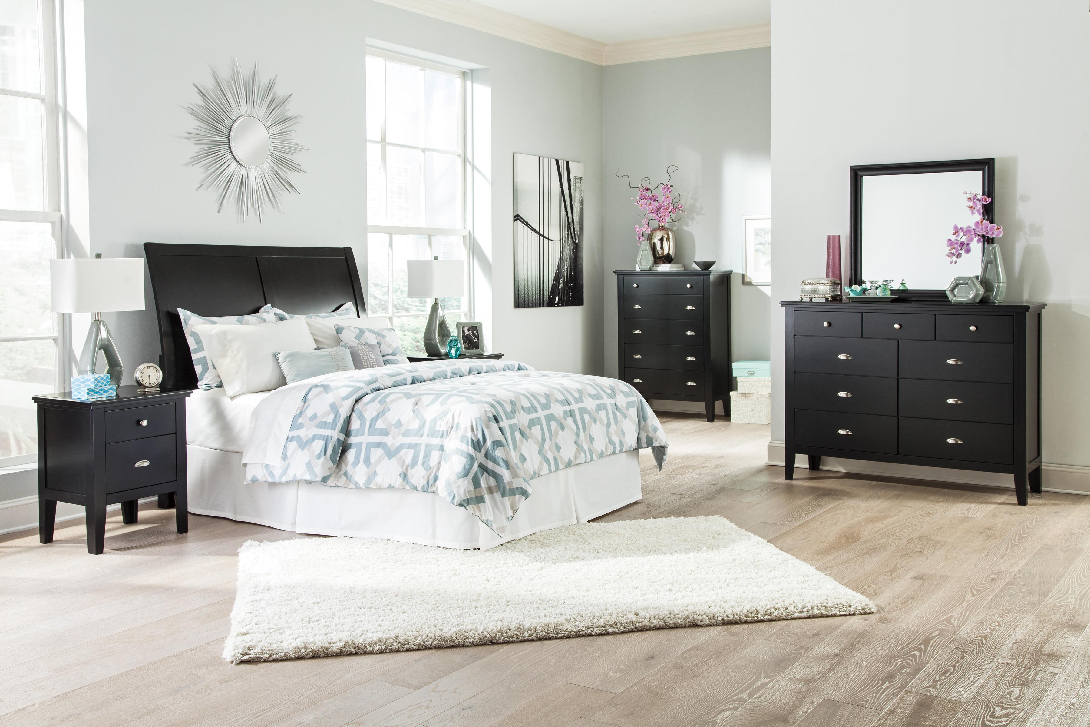 Signature Design by Ashley Braflin Queen Bedroom Group - Item Number: B591 Q Bedroom Group 2