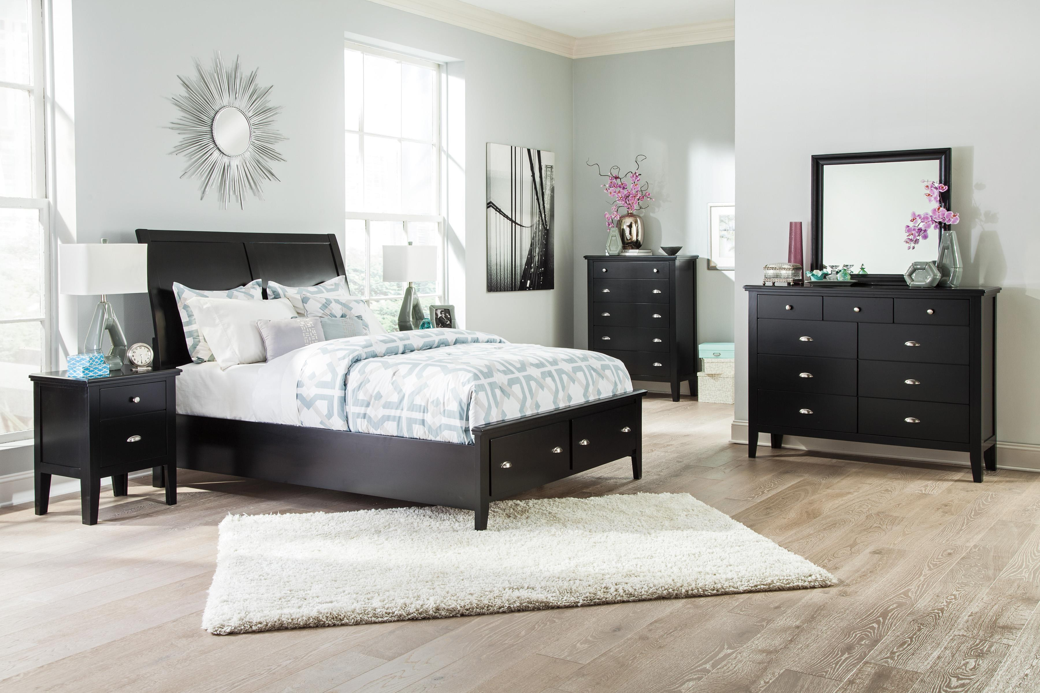 Signature Design by Ashley Braflin King Bedroom Group - Item Number: B591 K Bedroom Group 3