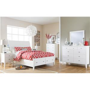 Signature Design by Ashley Langlor Transitional Dresser & Bedroom Mirror
