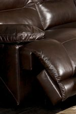 Smooth Upholstery Covers Plush Furniture Padding Providing Spa-Like Comfort in Living Rooms and Family Spaces