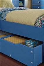 Optional Under Bed Unit Used For Storage