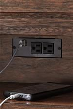 AC Power Supply with USB Charger Ports on Select Pieces