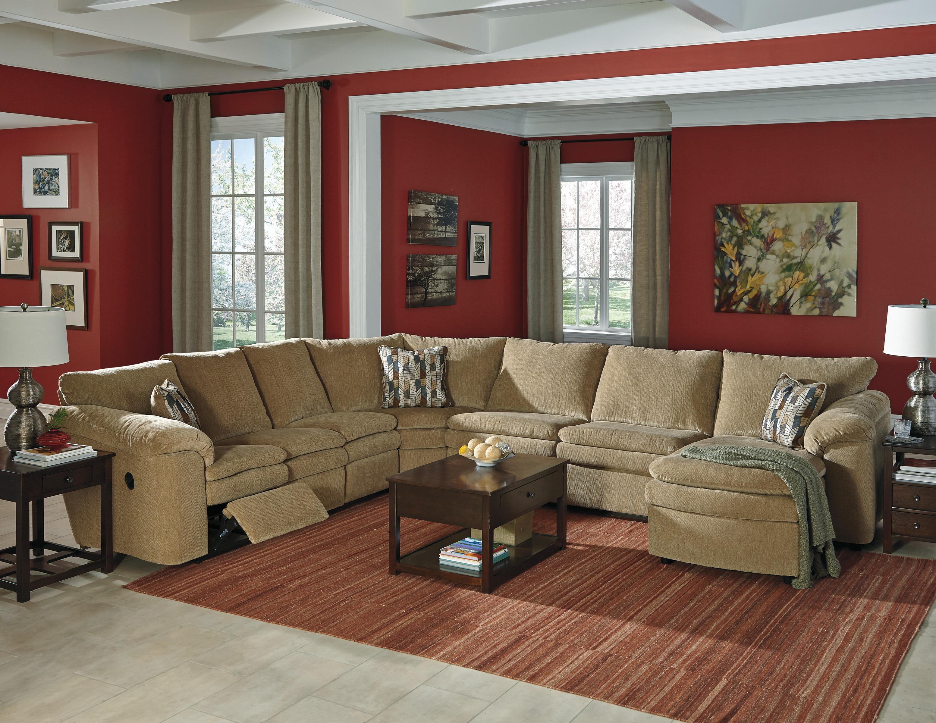 Signature Design by Ashley Coats Casual Contemporary 4 Piece