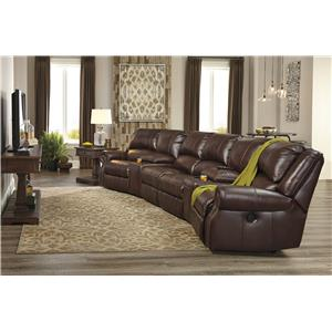 Signature Design by Ashley Collinsville 3-Piece Theater Seating Group