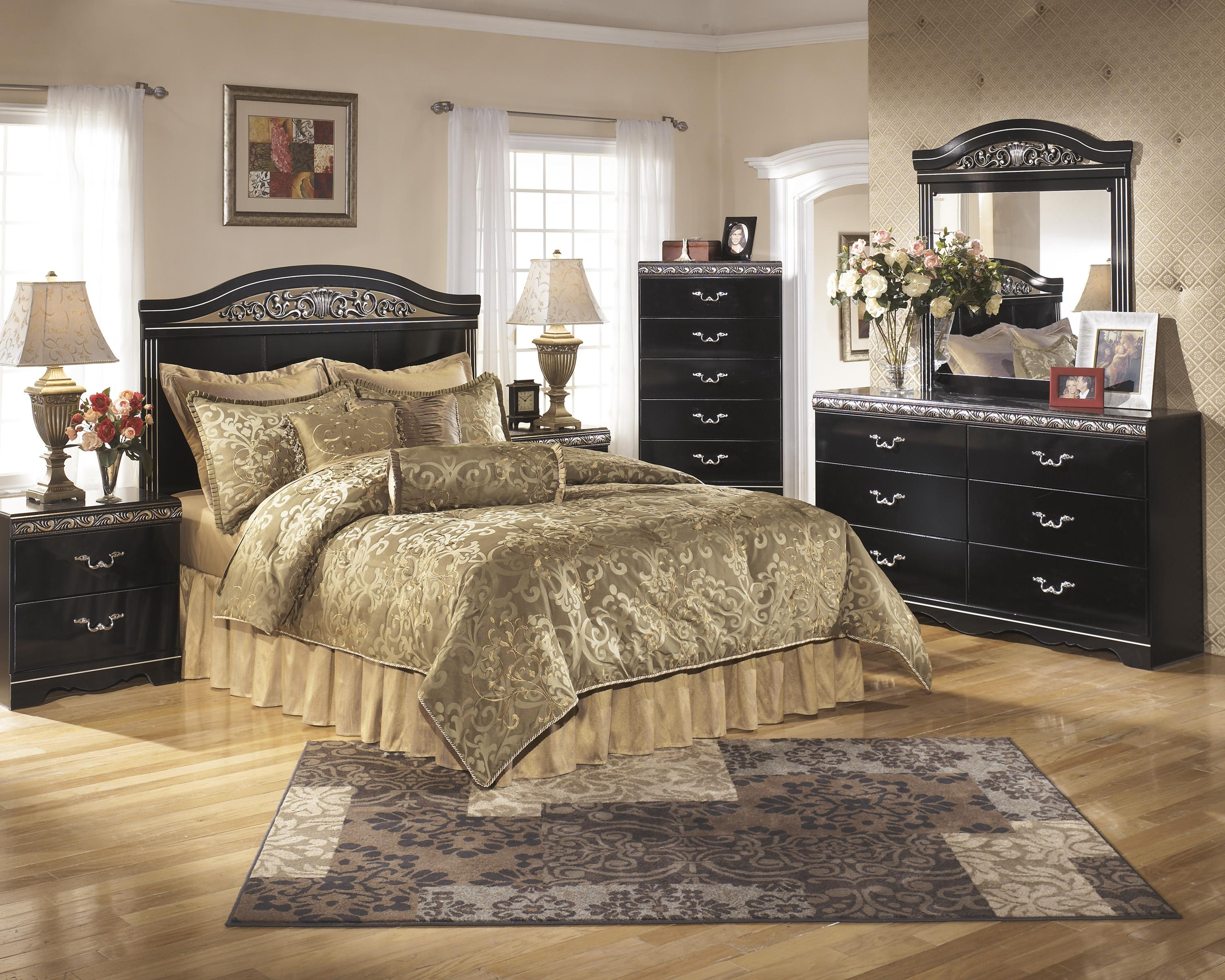 Signature Design by Ashley Constellations Queen/Full Bedroom Group - Item Number: B104 Q Bedroom Group 2