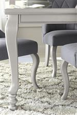 Cabriole Legs on Table and Chairs