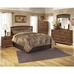 Signature Design By Ashley Timberline Queen Sleigh Bed With Underbed Storage Wayside Furniture