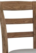 Ladder Back Design for Classic Farmhouse Look
