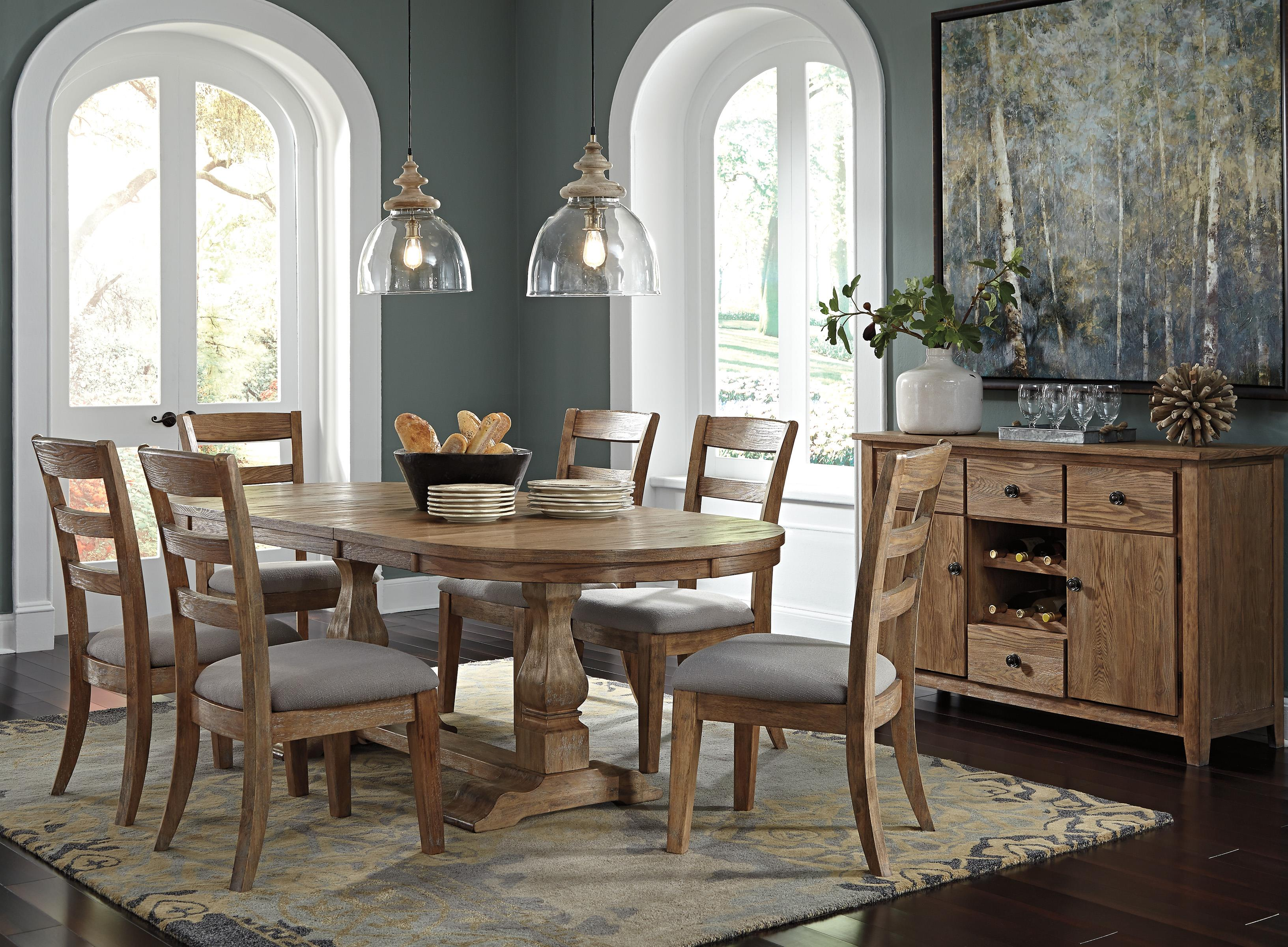 Signature Design by Ashley Danimore Casual Dining Room Group - Item Number: D473 Dining Room Group 1