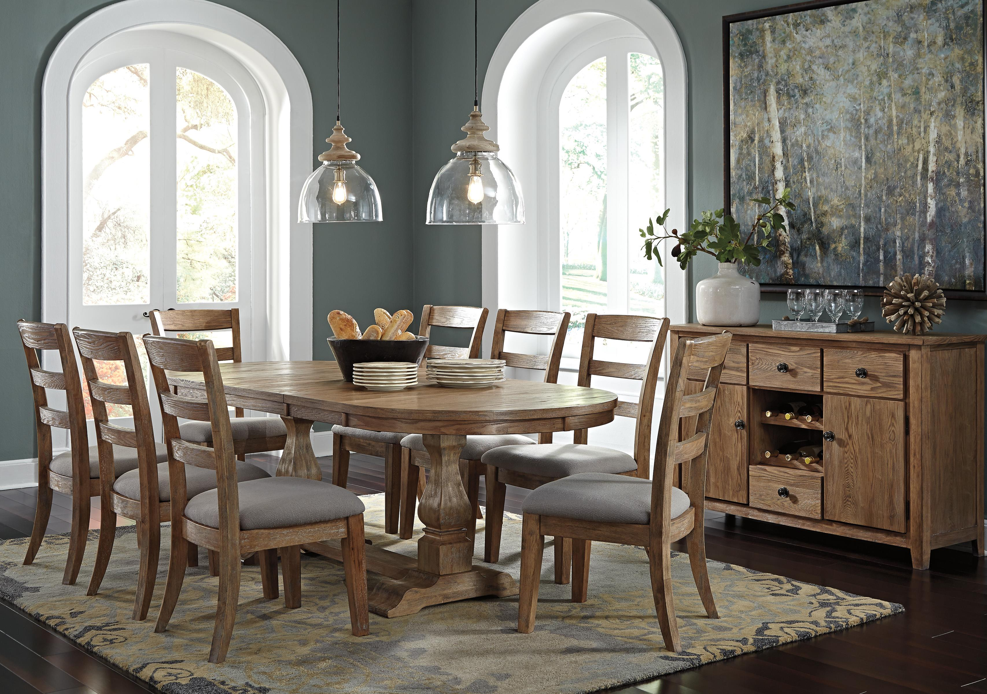Signature Design by Ashley Danimore Casual Dining Room Group - Item Number: D473 Dining Room Group 2