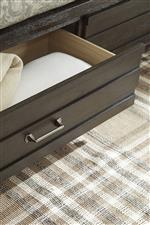 Footboard Storage Drawers
