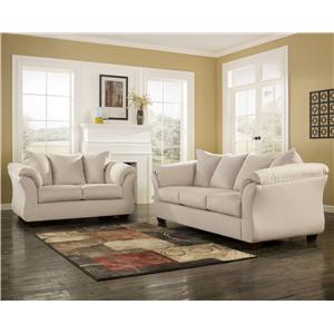 Signature Design By Ashley Darcy Stone Sectional Sofa