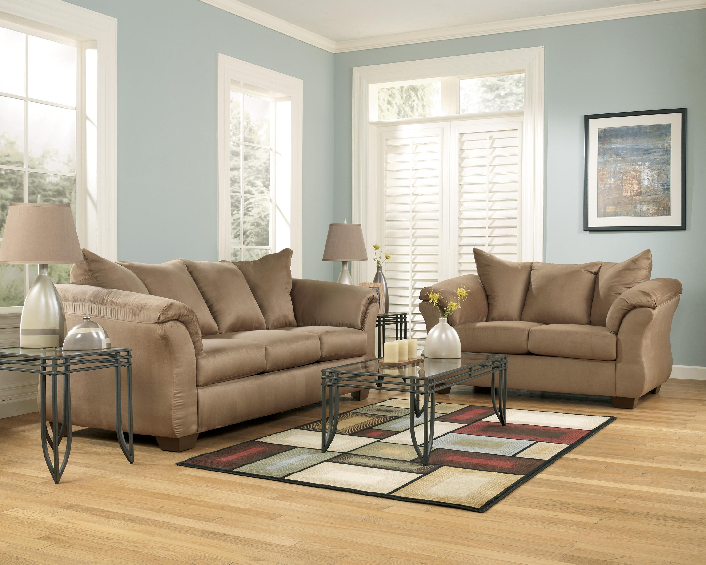Signature Design by Ashley Darcy Mocha Contemporary Sectional