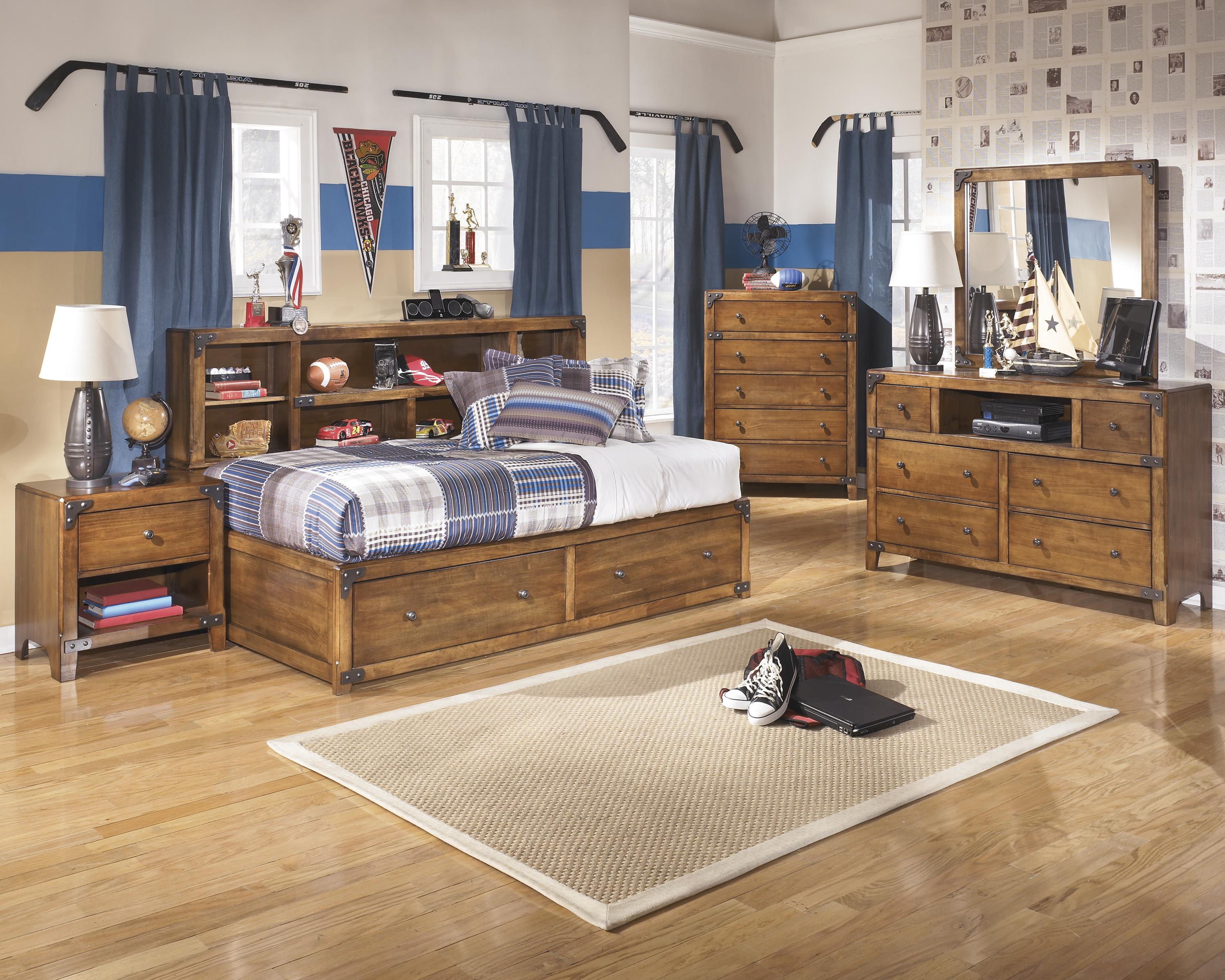 Signature Design by Ashley Delburne Twin Bedroom Group - Item Number: B362 T Bedroom Group 1