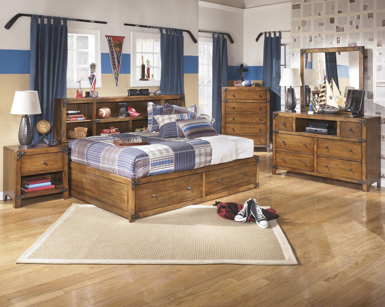 Signature Design by Ashley Delburne Full Bedroom Group - Item Number: B362 F Bedroom Group 1