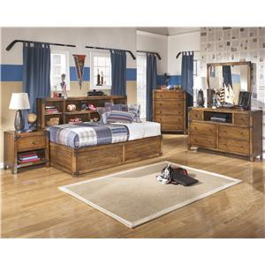 Signature Design by Ashley Cole 3PC Twin Bedroom Set
