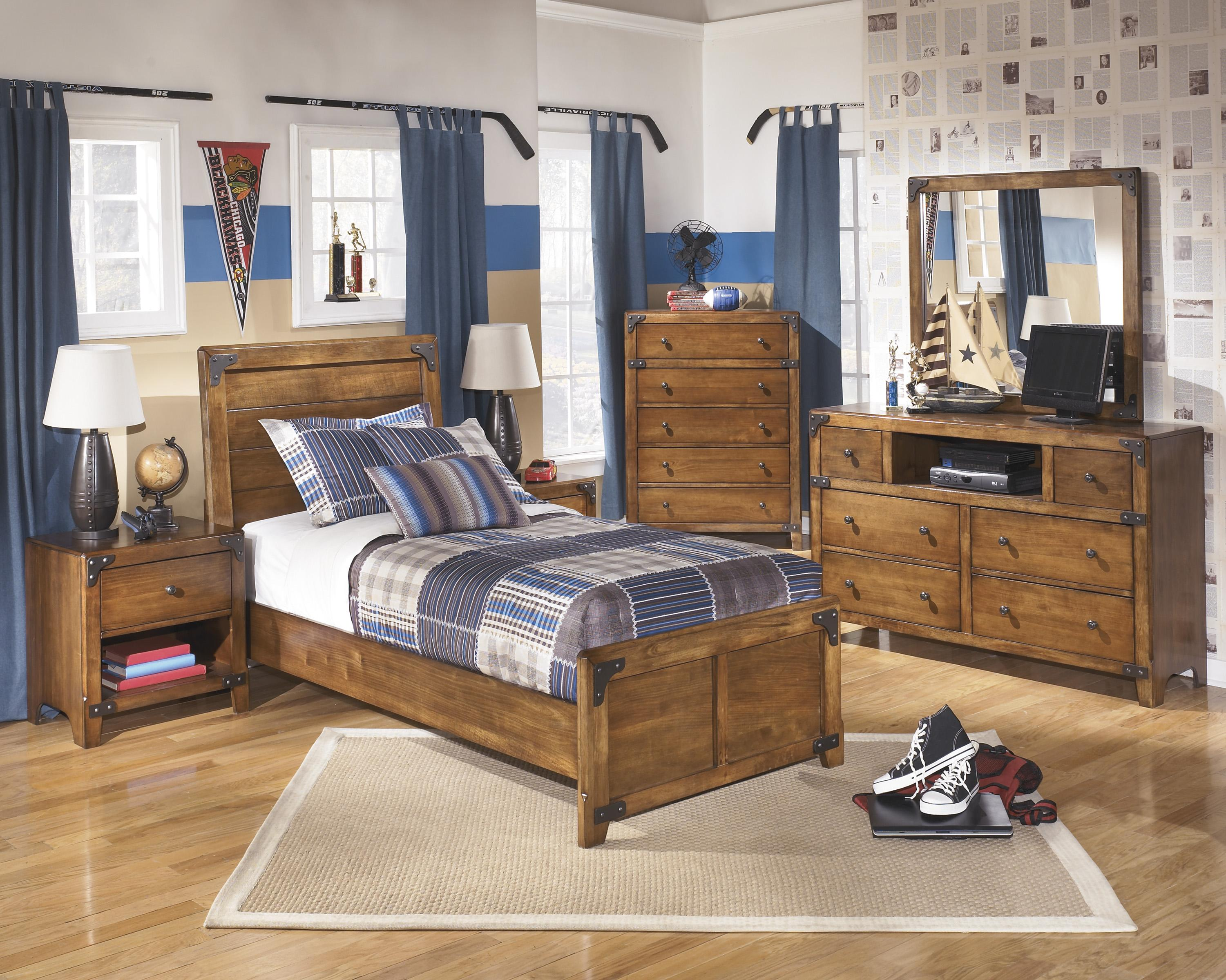 Signature Design by Ashley Delburne Twin Bedroom Group - Item Number: B362 T Bedroom Group 2