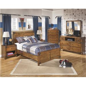 Benchcraft Delburne Full Bedroom Group