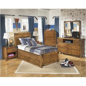 Benchcraft Delburne Twin Bedroom Group