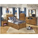 Signature Design by Ashley Delburne Twin Bedroom Group - Item Number: B362 T Bedroom Group 3