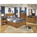Signature Design by Ashley Delburne Full Bedroom Group - Item Number: B362 F Bedroom Group 3