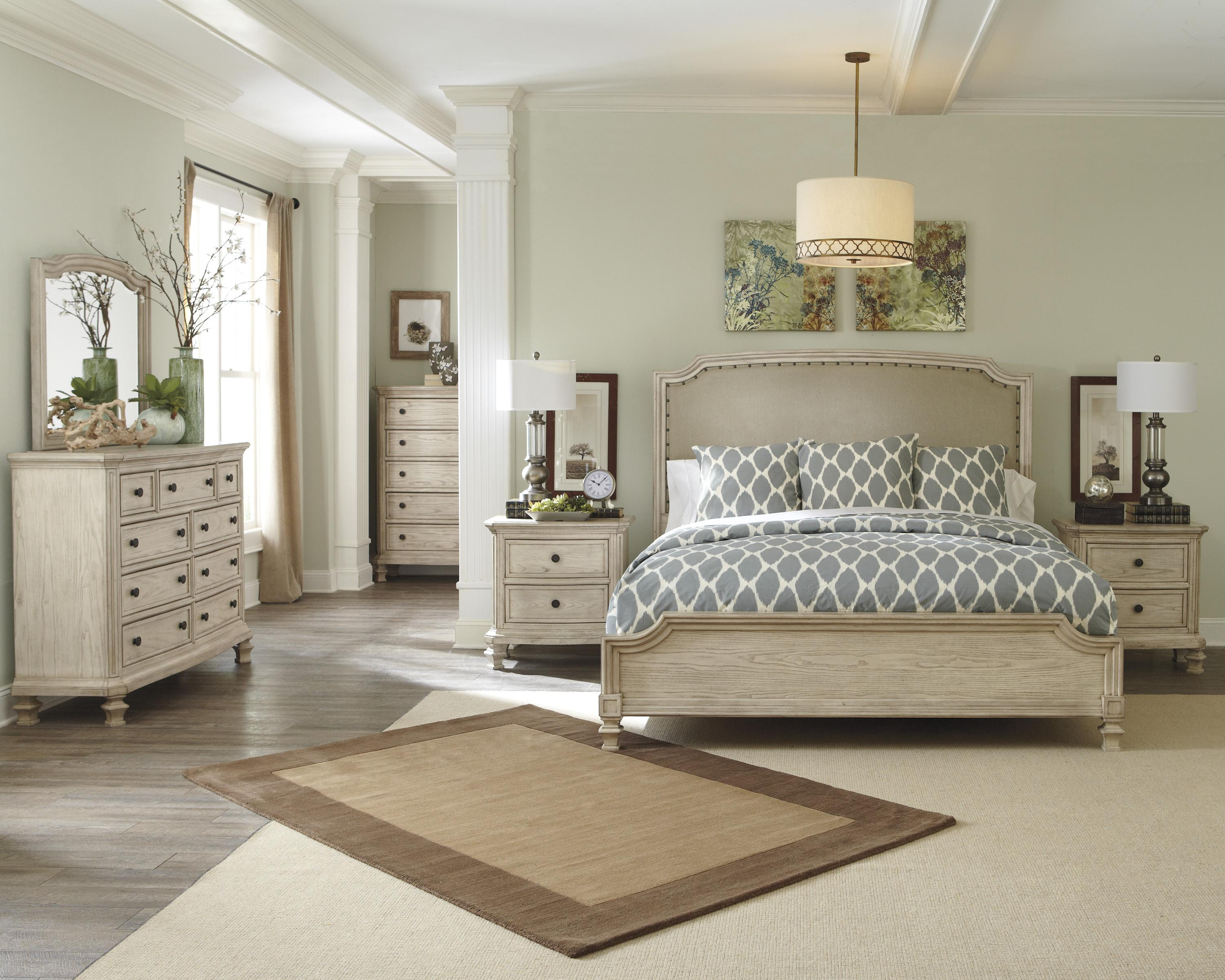 Signature Design by Ashley Demarlos Queen Bedroom Group - Item Number: B693 Q Bedroom Group 1
