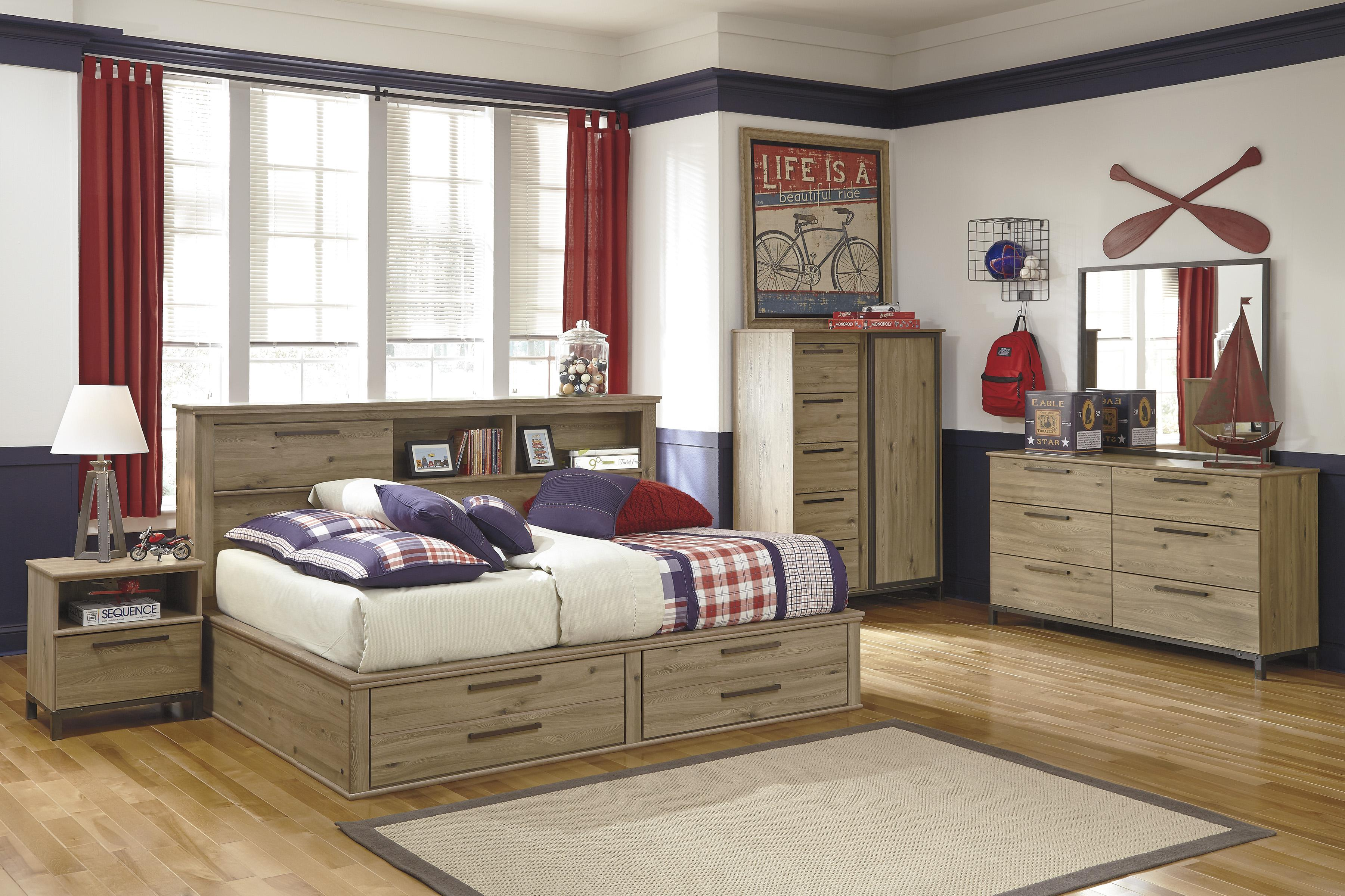 Signature Design by Ashley Dexifield Full Bedroom Group - Item Number: B298 F Bedroom Group 4