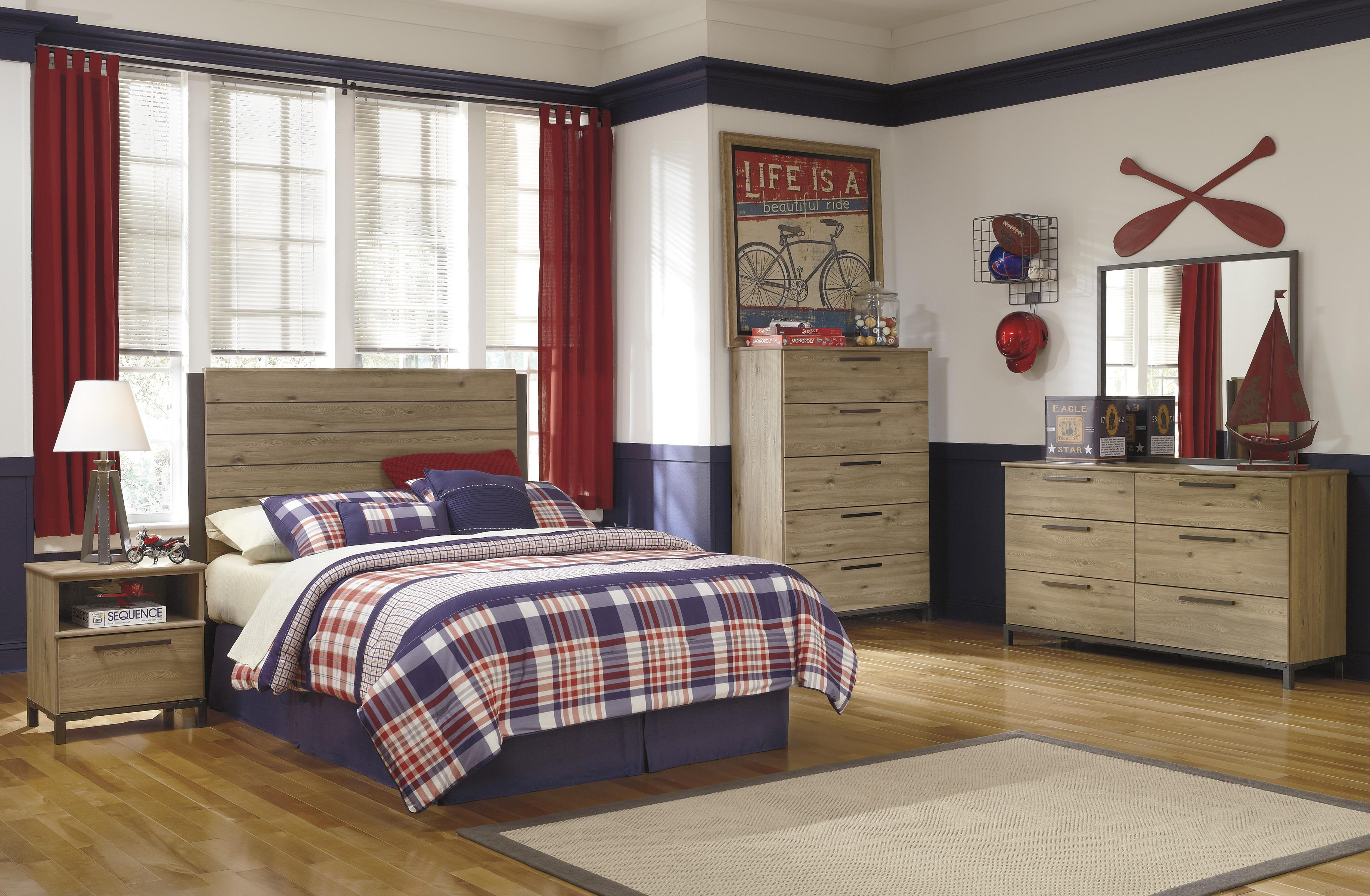 Signature Design by Ashley Dexifield Full Bedroom Group - Item Number: B298 F Bedroom Group 2