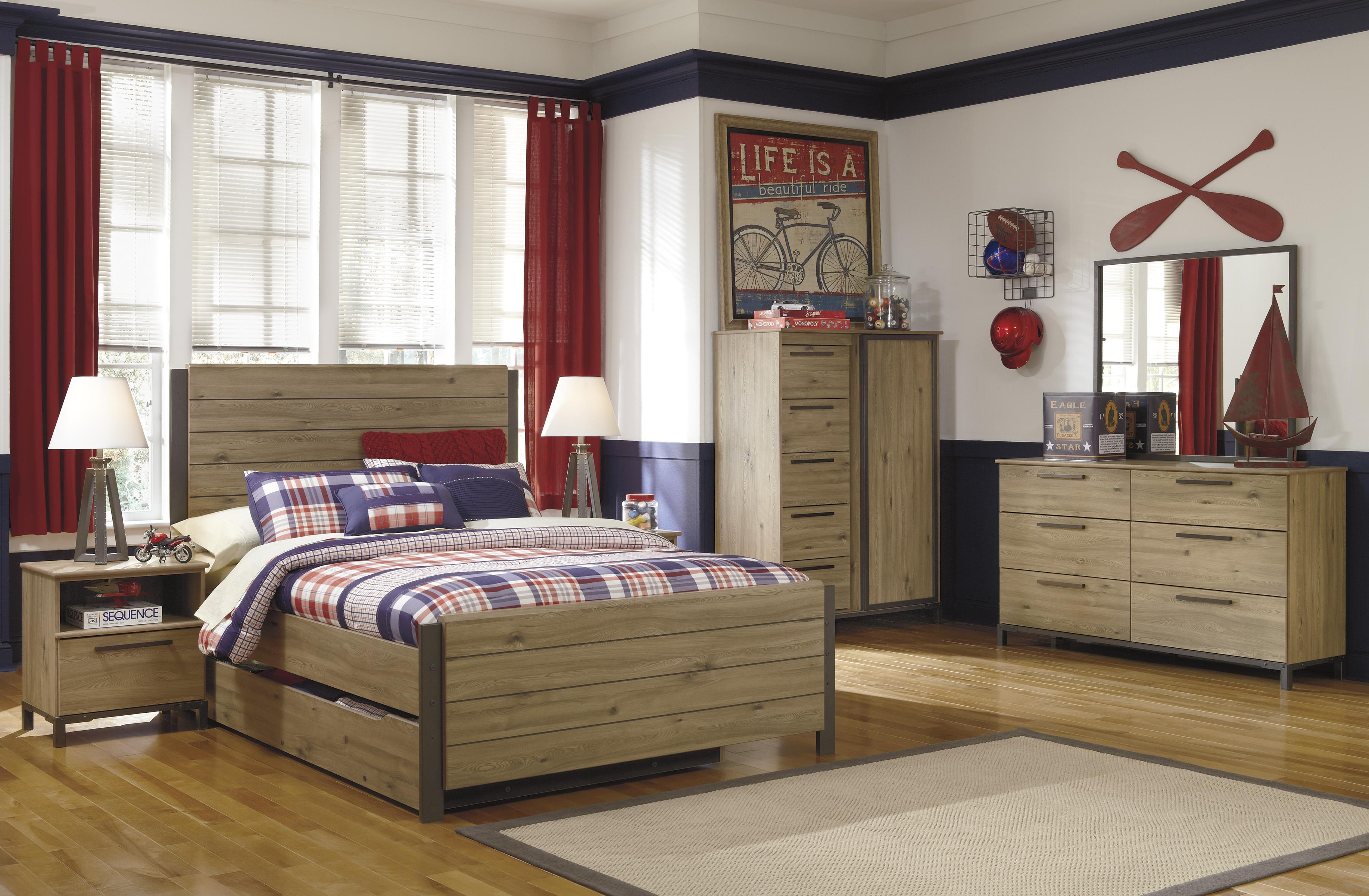 Signature Design by Ashley Dexifield Full Bedroom Group - Item Number: B298 F Bedroom Group 3