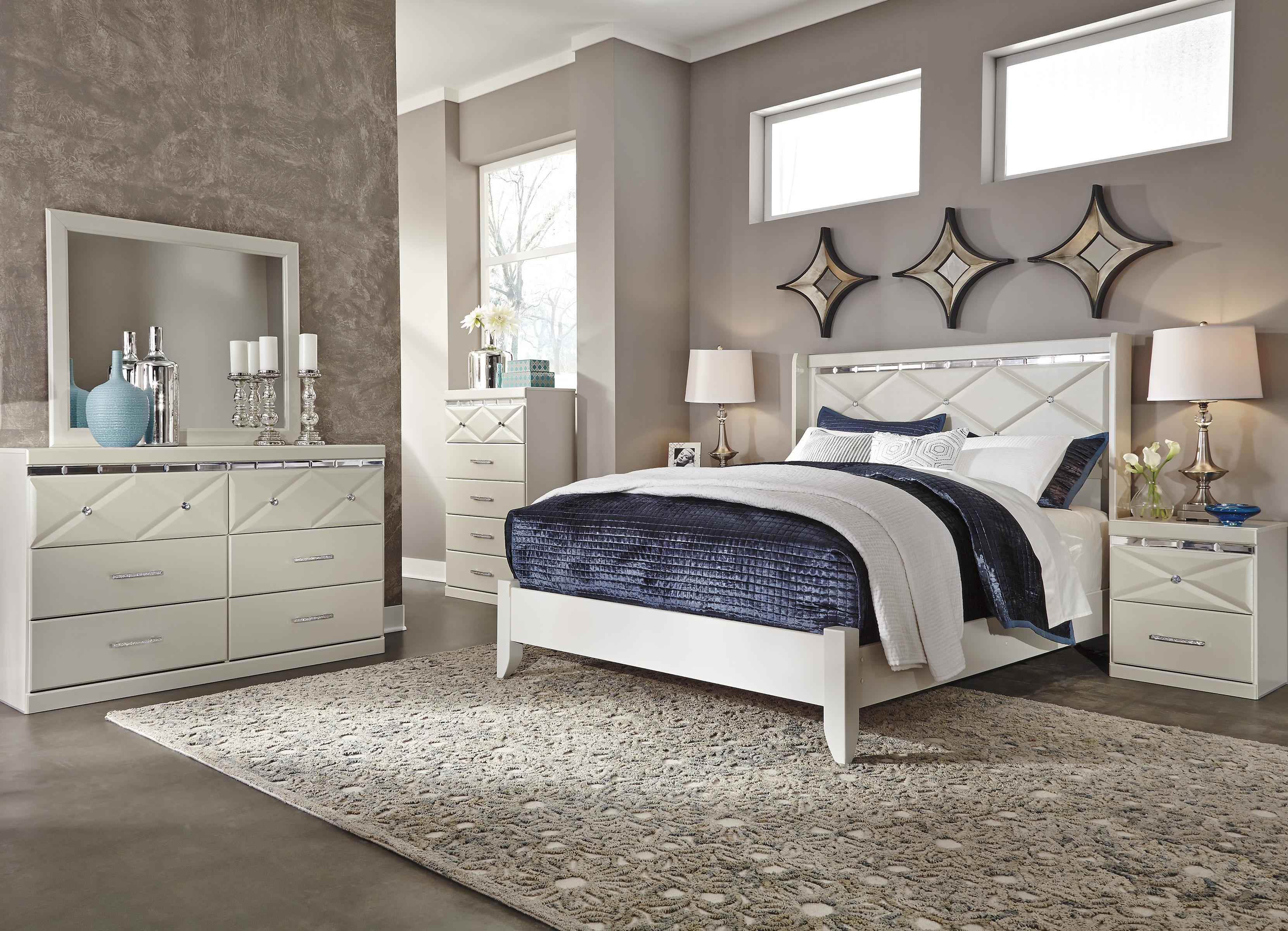 Signature Design by Ashley Dreamur Queen Bedroom Group - Item Number: B351 Q Bedroom Group 1