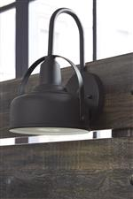 Headboard Lamp with Sconce