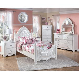 Signature Design by Ashley Exquisite Full Bedroom Group