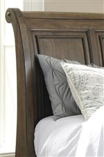 Sleigh Headboard with Framed Panels
