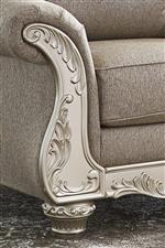 Ornate Trim in Glam Silver Finish