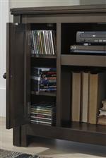 Adjustable Shelves Inside Side Doors