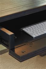 Drop-Front Drawer on Desk