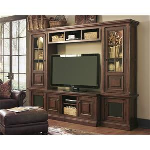 Signature Design by Ashley Gaylon Wide and Narrow Pier Entertainment Center